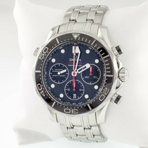 Omega Men's Stainless Steel Seamaster Diver's Coaxial Professional Chronograph - $4,801.33