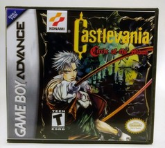 Castlevania Circle of the Moon GBA Replacement CASE - Black Case (*NO GA... - $5.66