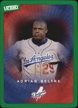 2003 Upper Deck Victory Tier 1 Green #43 Adrian Beltre NM-MT Dodgers - $1.59