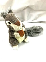 Gray Squirrel Unipak Stuffed Animal Plush toy NWT - $12.00