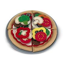 Melissa & Doug Felt Play Food Pizza Set (Pretend Play, Easy to Clean, Includes P - $17.98