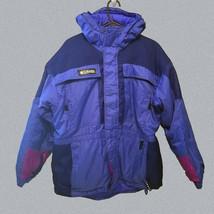 Columbia Jacket Junior Girls Glacier Tectonite Blue & Pink Size 18-20 Womens L  - $35.99