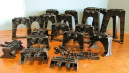 Lionel 2110 Elevated Trestle Set Lot Of 21- Different Sizes Dark Brown - $37.40