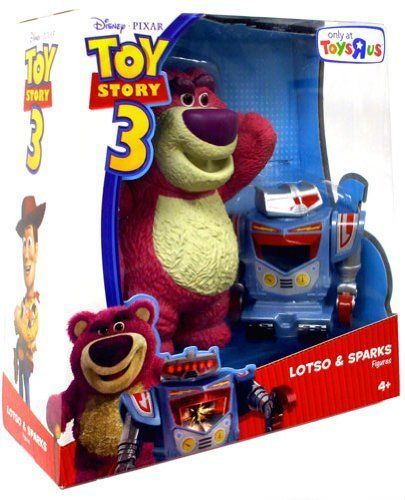 Disney / Pixar Toy Story 3 Exclusive Deluxe Action Figure 2Pack Lotso Sparks
