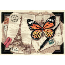 """Dimensions Gold Petite Counted Cross Stitch Kit 7""""X5""""-Travel Memories (18 Count) - $18.46"""