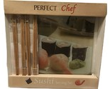 Perfect chef sushi glass serving set 2 burned thumb155 crop