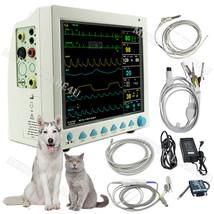 veterinary ICU CCU Patient monitor CMS8000 VET vital signs monitor 6 par... - $498.25