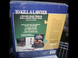 BEPUZZLED TO KILL A LAWYER PUZZLE GAME  SEALED - $22.00