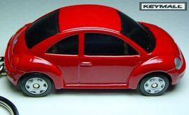 Porte Cle VW VOLKSWAGEN New Beetle COX Rouge Ne... - $34.94