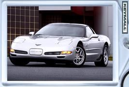 KEYTAG 2001~2002~2003~2004 SILVER CHEVY CORVETT... - $9.95