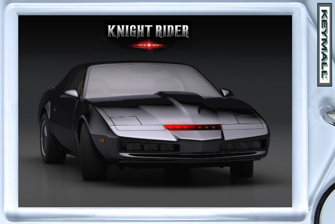 KEYTAG 82 PONTIAC FIREBIRD BLACK KNIGHT RIDER KEY CHAIN Bonanza