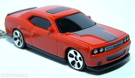 KEY CHAIN NEW 2009~2010 ORANGE~RED DODGE CHALLENGER SRT - $22.98