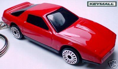 KEY CHAIN 1982~83~84 PONTIAC FIREBIRD RED KNIGHT RIDER Bonanza