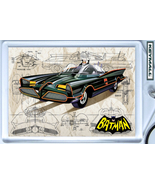 KEY CHAIN 1966 BATMOBILE BATMAN & ROBIN G BARRIS KEYTAG - $9.95