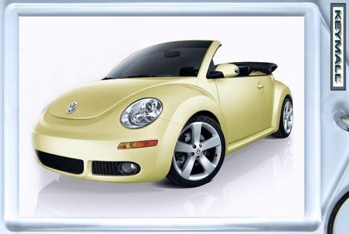 New Beetle Porte clé VW Cox convertible Jaune/Beige !! Bonanza