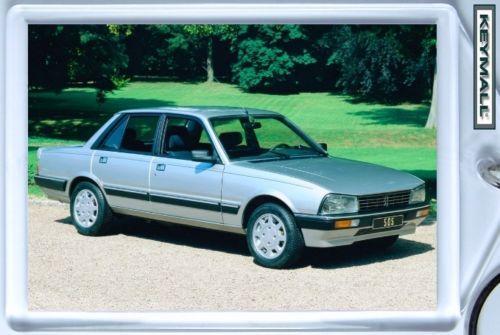 Ancien Model Porte Clé PEUGEOT 505 V6 Gris Metallisé !! Bonanza
