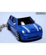 Porte Cles clé KEY CHAIN BMW MINI COOPER Bleu/blanche BLUE  - $34.95