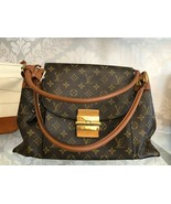 "LOUIS VUITTON ""Olympe MM"" Monogram Canvas & Leather Shoulder Bag w/Buckl... - $2,771.90"