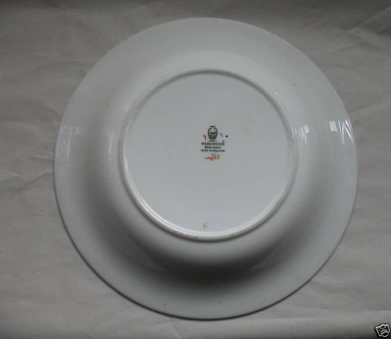 Wedgewood Soup Bowl Bone China Pinehurst Pattern Coupe England image 3