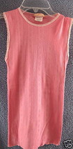 Forever 21 New Small Ribbed Pink Cami Tank Top Lace Juniors Cotton Slim Fit - $9.74