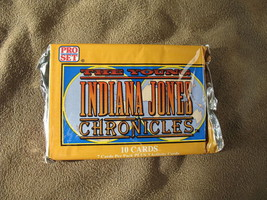 The Young Indiana Jones Chronicles NEW Pro-Set Trading Cards 1 Pack 1992 Sealed image 1