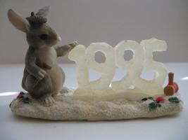 Binkeys 1995 Ice Sculpture Charming Tails Retired 87572 Silvestri Dean Schiff image 1