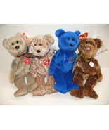 Ty Beanie Babies 1999 2002 Signature Bears Chicago World Cup FIFA Soccer... - $12.12