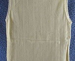 Forever 21 New Medium Ribbed Yellow Cami Tank Top Lace Juniors Cotton Slim Fit