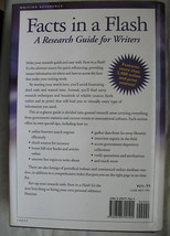 Facts in A Flash Research Guide for Writers Ellen Metter Hardcover image 2
