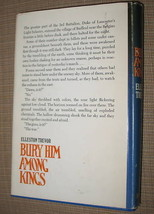 Bury Him Among Kings Elleston Trevor Hardcover Book Club 1970 Doubleday Classic image 2