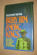 Bury Him Among Kings Elleston Trevor Hardcover Book Club 1970 Doubleday Classic image 1