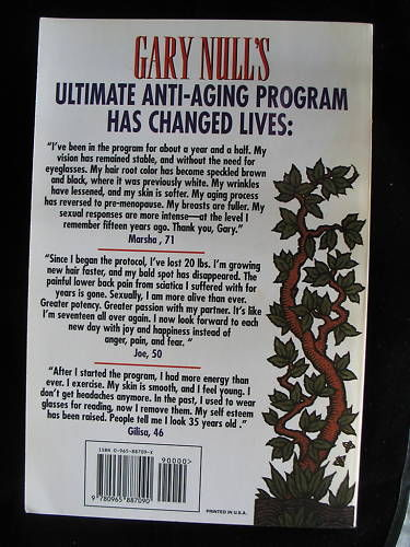 Gary Null Ultimate Anti-Aging Program PBS Paperback How to Live Forever Like New image 2