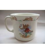 Royal Doulton China Bunnykins Hug A Mug Albion Pattern Coffee Beverage Cup - $24.04