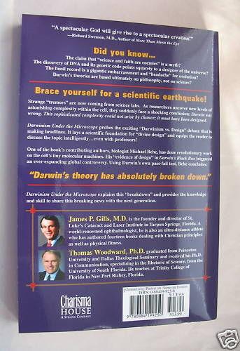 Darwinism under the Microscope by Gills & Woodward Paperback Darwin 2002 image 2
