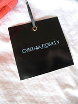 Cynthia Rowley New Purse Handbag Leather Crossbody Calloway Orange Coral White image 7