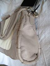 Cynthia Rowley Purse New Handbag Calloway Gray White Crossbody Leather Ash Color image 5