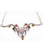 Womens Rosetta Picture Rock Necklace Sabine Koe... - $56.88