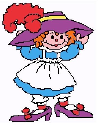 Red purple hat ragdoll