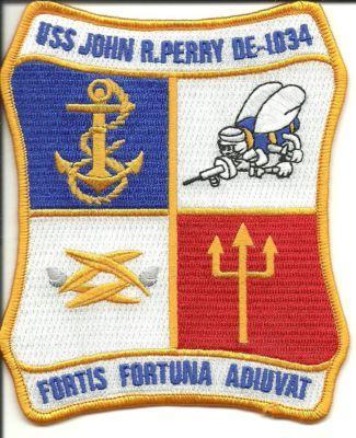 Primary image for US Navy USS John R. Perry DE - 1034 Fortis Fortuna Adiuvat Patch