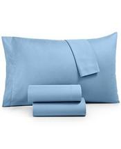 New Signature Collection Luxury Light Blue Microfiber 3 Piece Twin Sheet... - $19.59
