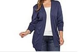 Women's Winter Fall Spring Open Front knit Cardigan Sweater jacket plus ... - $39.59