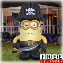Halloween Inflatable Outdoor 9 Feet Decoration Minion Scary Yard Airblow... - £85.51 GBP
