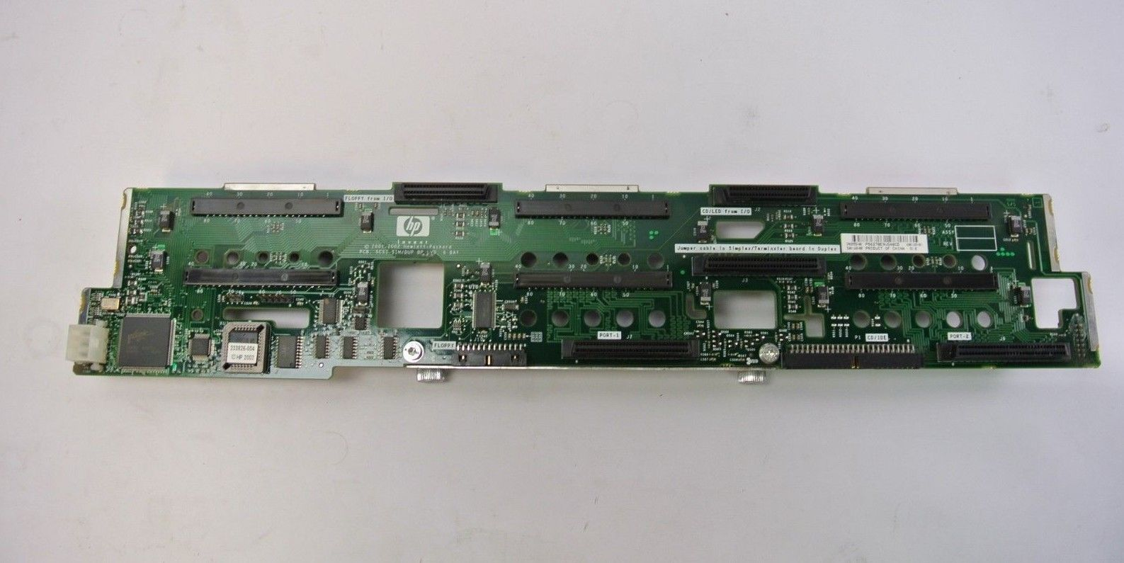 Primary image for HPCompaq 289552-001 6-bay SCSI Backplane Board for Proliant DL380 G3