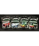 Set of 4 HESS 1996 Classic Truck Series Tumblers Glasses Fire Truck Tank... - $19.79