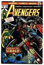 AVENGERS #124 comic book-iron man-Thor-captain america-1974 - $37.83