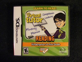 My Virtual Tutor Reading Kindergarten to First Grade (Nintendo DS 2009) ... - $11.29