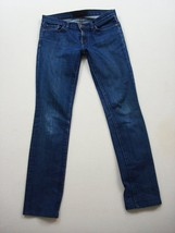 J Brand Jeans Mujer 27 Skinny 2 Formas Denim Elástico Azul Hecho en USA - $33.08