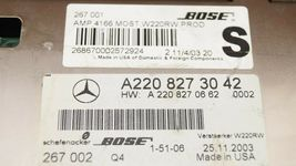 Mercedes Bose Radio Stereo Amp Amplifier A2208273042 image 7