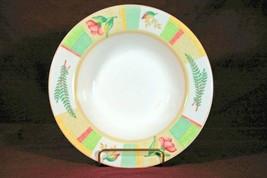 Sango 2002 Garden Cafe #3048 Rimmed Soup Bowl - $4.15