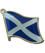 ALBATROS Pack of 12 Scotland Cross Country Flag Lapel Pin for Bike Hat a... - $47.36